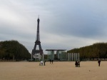 Champs de Mars, Paris, and the Eiffel Tower