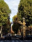 Gate of the Monceau Park Paris