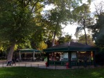 Carousel and buffet in Paris, Parc Monceau