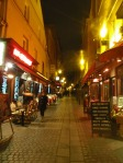 Restaurants and bars at Rue Mouffetard